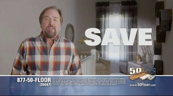 50 Floor TV Spot, 'Upgrade Your Home and Save' Featuring Richard Karn - Thumbnail 2