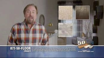 50 Floor TV Spot, 'Upgrade Your Home and Save' Featuring Richard Karn - Thumbnail 3