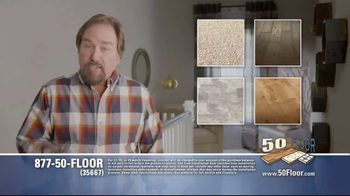 50 Floor TV Spot, 'Upgrade Your Home and Save' Featuring Richard Karn - Thumbnail 4