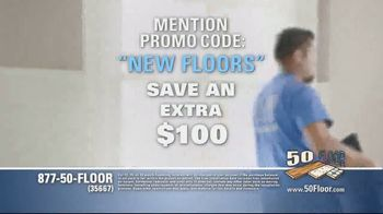 50 Floor TV Spot, 'Upgrade Your Home and Save' Featuring Richard Karn - Thumbnail 7