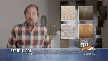 50 Floor TV Spot, 'Upgrade Your Home and Save' Featuring Richard Karn