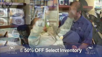 Relax the Back Clearance Sale TV Spot, 'Save on Inventory'