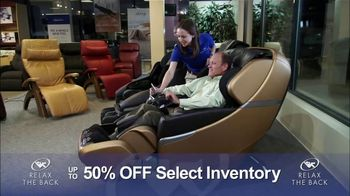 Relax the Back Clearance Sale TV Spot, 'Save on Inventory' - Thumbnail 3