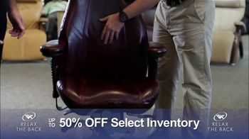 Relax the Back Clearance Sale TV Spot, 'Save on Inventory' - Thumbnail 4