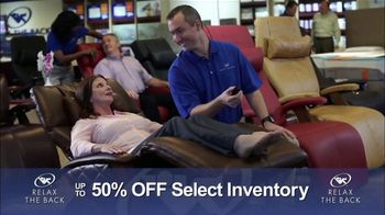 Relax the Back Clearance Sale TV Spot, 'Save on Inventory' - Thumbnail 5