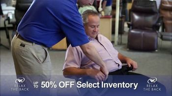 Relax the Back Clearance Sale TV Spot, 'Save on Inventory' - Thumbnail 6