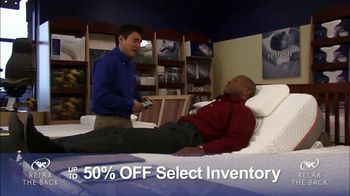 Relax the Back Clearance Sale TV Spot, 'Save on Inventory' - Thumbnail 7