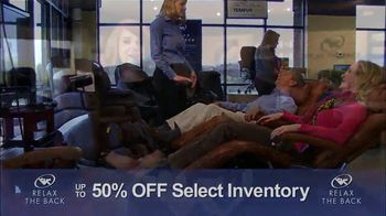 Relax the Back Clearance Sale TV Spot, 'Save on Inventory' - Thumbnail 8