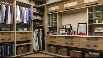 Closet Factory TV Spot, 'A Cluttered Life'