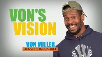 PopSockets Poptivism TV Spot, 'Von's Vision' Featuring Von Miller