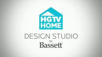 Bassett Martin Luther King Sale TV Spot, 'HGTV Home Design Studio: Custom Furniture' - Thumbnail 8
