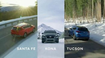 Hyundai TV Spot, 'Full Lineup of SUVs: Winter' [T2]