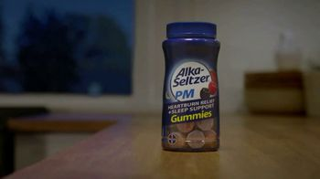 Alka-Seltzer PM Gummies TV Spot, 'Heartburn Relief Plus Melatonin' - Thumbnail 5