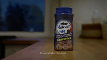 Alka-Seltzer PM Gummies TV Spot, 'Heartburn Relief Plus Melatonin' - Thumbnail 6