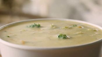 Panera Bread Broccoli Cheddar Soup TV Spot, 'What Goes Into Your Soup' - Thumbnail 5