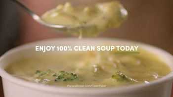 Panera Bread Broccoli Cheddar Soup TV Spot, 'What Goes Into Your Soup' - Thumbnail 8