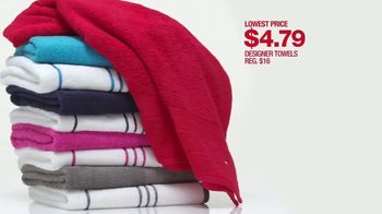 48 Hour Sale: Designer Towels, Luggage and Appliances thumbnail