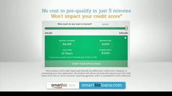 SmartBiz Loans TV Spot, 'The Right Loan at the Right Time' - Thumbnail 8