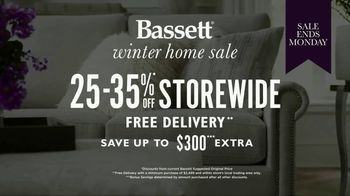 Bassett Winter Home Sale TV Spot, 'Time for Custom Furniture'