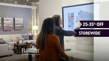 Bassett Winter Home Sale TV Spot, 'Time for Custom Furniture' - Thumbnail 1