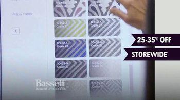 Bassett Winter Home Sale TV Spot, 'Time for Custom Furniture' - Thumbnail 2
