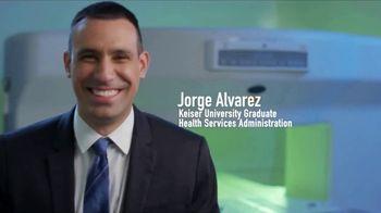 Keiser University TV Spot, 'Health Services Administration Graduate: Jorge Alvarez'