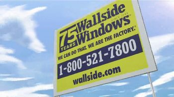 Wallside Windows TV Spot, '75 Years: You Could Save Thousands' - Thumbnail 10
