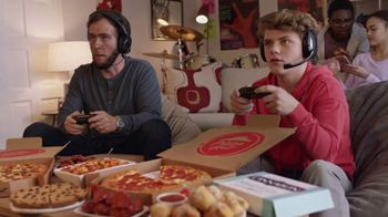 Pizza Hut $5 Lineup TV Spot, 'Level Up With Abe'