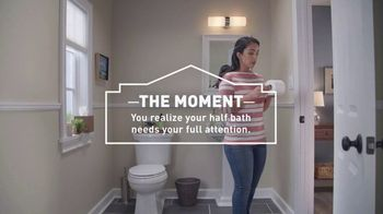Lowe's TV Spot, 'Half Bath: Select Vanities'
