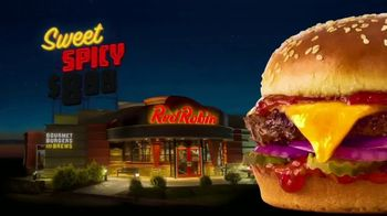 Red Robin Sweet & Spicy Cheeseburger TV Spot, 'Gourmet Deal'