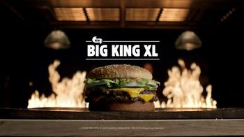 Burger King Big King XL TV Spot, 'Improved Copycat'