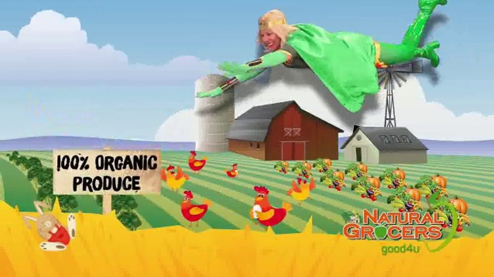 Natural Grocers TV Commercial, 'Health Crusader and Organica Girl:  Free-Range Eggs' - Video