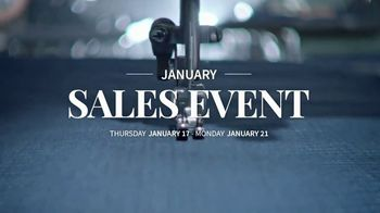 JoS. A. Bank January Sales Event TV Spot, 'Suits, Wool Coats & Sweaters' - Thumbnail 1