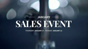JoS. A. Bank January Sales Event TV Spot, 'Suits, Wool Coats & Sweaters'