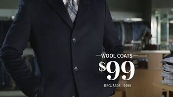 JoS. A. Bank January Sales Event TV Spot, 'Suits, Wool Coats & Sweaters' - Thumbnail 5