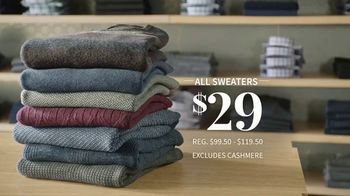 JoS. A. Bank January Sales Event TV Spot, 'Suits, Wool Coats & Sweaters' - Thumbnail 6