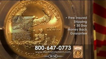 Westminster Mint TV Spot, '2019 $50 American Golf Eagle Coin' - Thumbnail 10