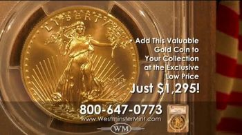 Westminster Mint TV Spot, '2019 $50 American Golf Eagle Coin' - Thumbnail 8