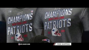 NFL Shop TV Spot, 'AFC Champs: Patriots' - Thumbnail 4
