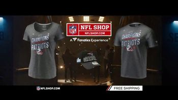 NFL Shop TV Spot, 'AFC Champs: Patriots' - Thumbnail 5