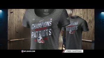 NFL Shop TV Spot, 'AFC Champs: Patriots' - Thumbnail 6
