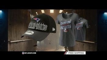 NFL Shop TV Spot, 'AFC Champs: Patriots' - Thumbnail 7