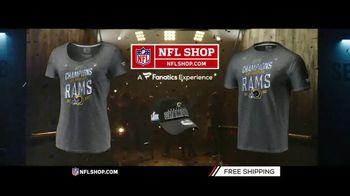 NFL Shop TV Spot, 'NFC Champs: Rams' - 115 commercial airings