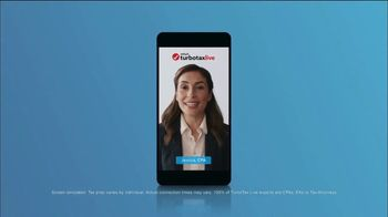 TurboTax Live TV Spot, 'CBS: Championship Game: CPAs on Demand' - Thumbnail 5