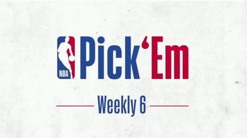 NBA TV Spot, 'Weekly Six' - Thumbnail 5