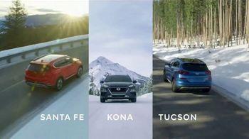Hyundai TV Spot, 'Full Lineup of SUVs: Winter' [T2]