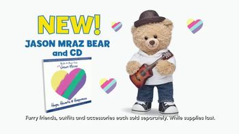 Build-A-Bear Workshop Jason Mraz Bear and CD Album Gift Set TV Spot, 'Experience the Fun' - 190 commercial airings