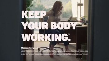 Massage Envy TV Spot, 'Keep Your Body Working: Sit Down' - Thumbnail 10