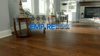 Empire Today 75 Percent Off Sale TV Spot, 'Save Big on Beautiful New Floors' - Thumbnail 1