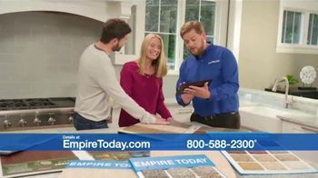 Empire Today 75 Percent Off Sale TV Spot, 'Save Big on Beautiful New Floors'